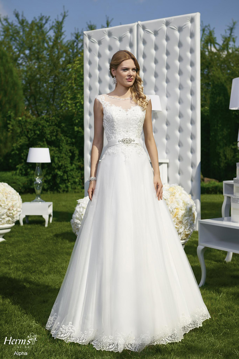 Divina Bridal - Kolekcja 2016 Herms, suknia ślubna Alpha