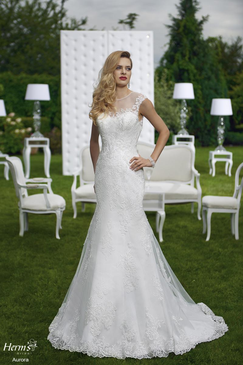 Divina Bridal - Kolekcja 2016 Herms, suknia ślubna Aurora